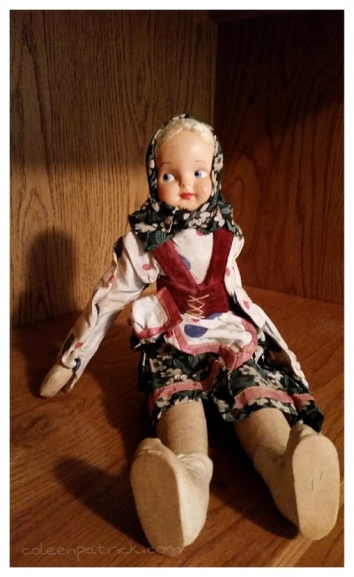 old doll grandma attic