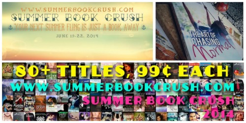 summer book crush Collage