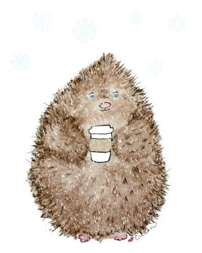 porcupine coffee snowstorm signature