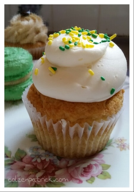 St Patrick's day cupcake