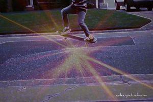 Ben ollie skateboarding _opt