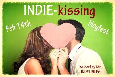 indie kissing badge