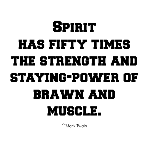 strength and sprit