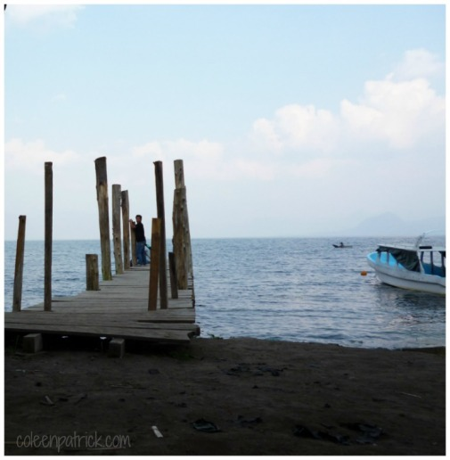 tzununa lake atitlan dock