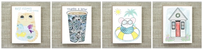 Coleen Patrick illustration greeting cards Etsy Shop
