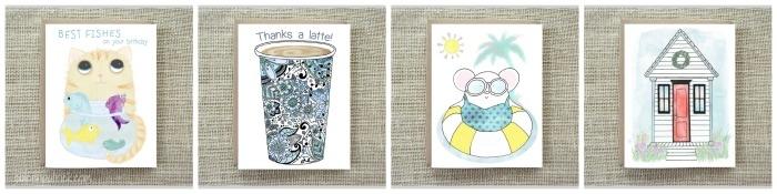 Coleen Patrick illustration greeting cards Etsy Shop