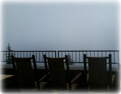 Fog at Crater Lake Oregon