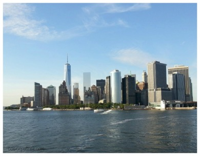 manhattan nyc ferry view