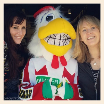 quaker steak chicken mascot