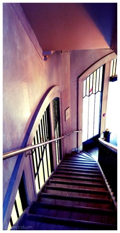 Vista House stairs oregon
