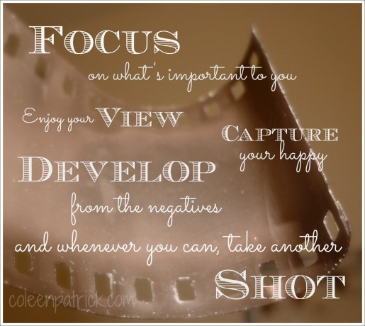 focus and take the shot