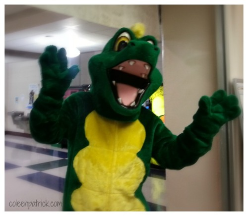 high school mascot dragon