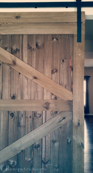 barn door decor