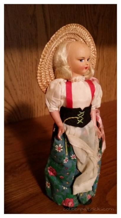 aging doll attic