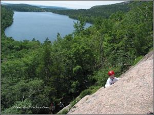The bigger picture rock climb maine_opt