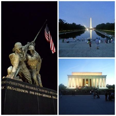 Memorials in D.C.