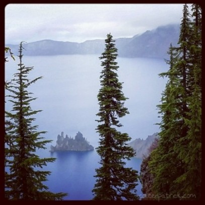 Phantom ship crater lake oregon